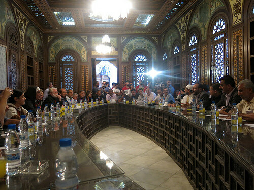 Christians and Muslims working together for peace in Damascus