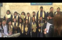 One of the many wonderful choirs of Saydnaya