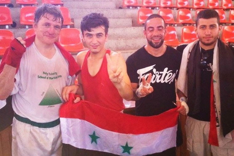 Boxers for Peace in Lattakia (Syria) 2015
